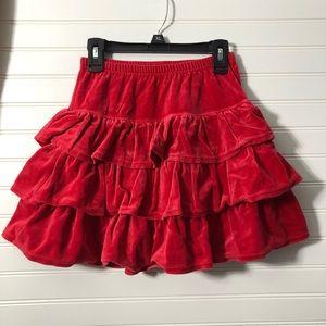 Hanna tiered skirt